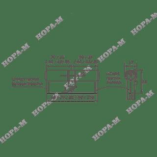 Личина Нора-М ЛПУ-90 (45-45)