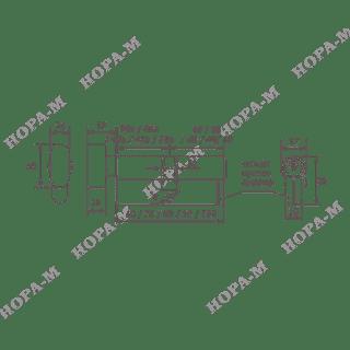 Личина Нора-М ЛПУВ-80 (40-40) с вертушком