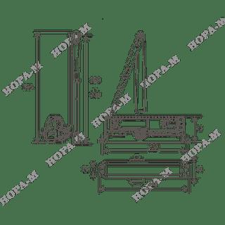 Доводчик Нора-М 5S до 160 кг