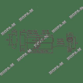 Личина Нора-М ЛУВ-90 (55-35в) с вертушком