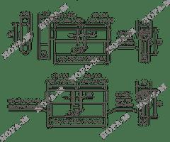 Личина Нора-М Люкс I ЛВ-70 (35-35) с вертушком