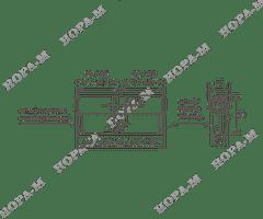 Личина Нора-М ЛПУ-80 (40-40)